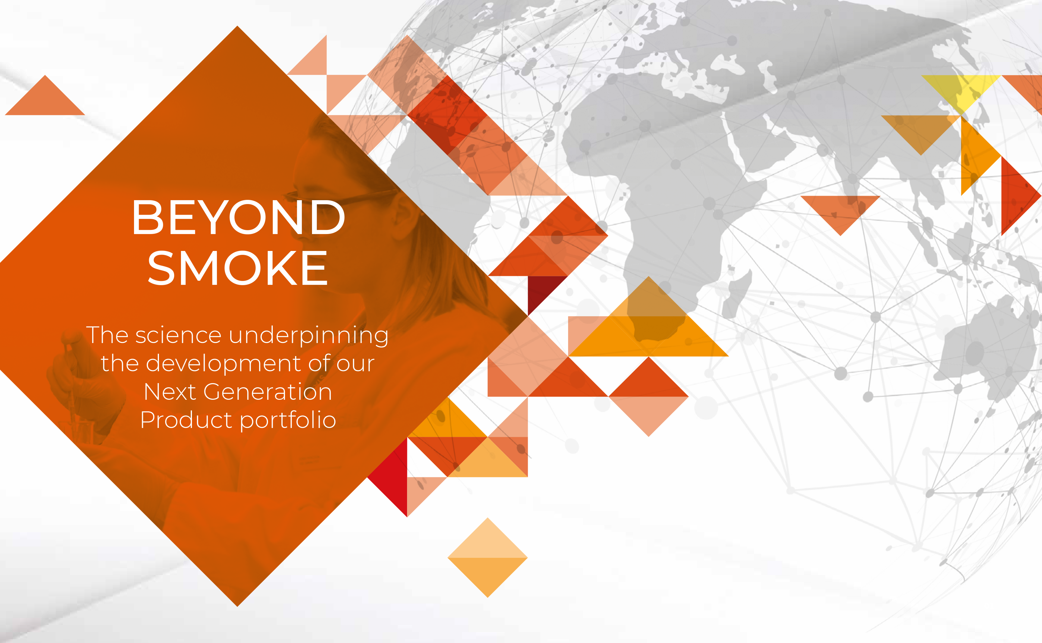 The science underpinning our NGPs – and a world Beyond Smoke…